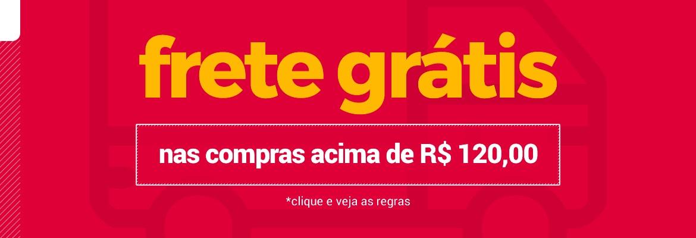 Frete Grátis para todo o Brasil, clique e confira!