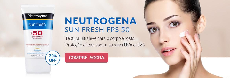 Compre Neutrogena Sun Fresh com até 20% de desconto!