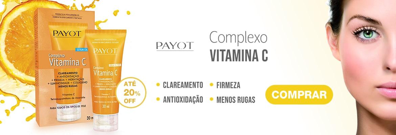 Compre Complexo Facial Vitamina C Payot 30ml com até 20% de desconto!
