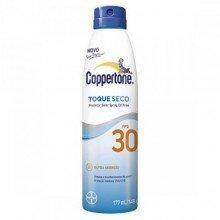 Protetor Solar Coppertone Spray Toque Seco Fps30 177ml