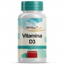 Vitamina D3 7.000 Ui - 30 Cápsulas