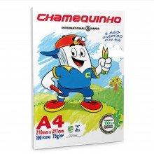 Papel Chamequinho A4 100 Folhas