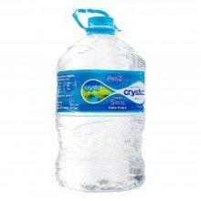 água Mineral Crystal Natural Sem Gás 5l