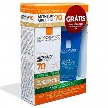 Kit Protetor Solar Anthelios Airlicium  Fps 70 - 60g e Sabonete Líquido Effaclar Concentrado 60g