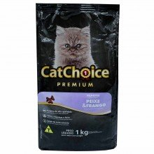Ração Cat Choice Premium Filhote Peixe/frango 1kg