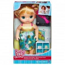 Boneca Baby Alive Loira Escolinha Hasbro Ref: B7223