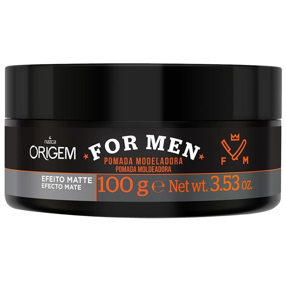 54100e994 Pomada Modeladora Origem Nazca For Men Efeito Matte 100g ...