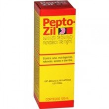 Pepto-zil 17,46mg/ml C/ 120 Ml