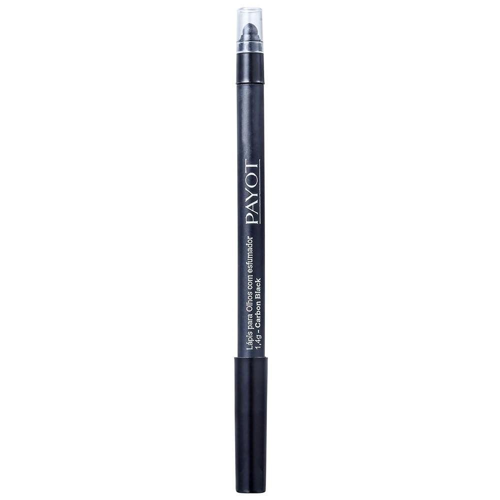 Lápis de Olho Payot Carbon Black Com Esfumador