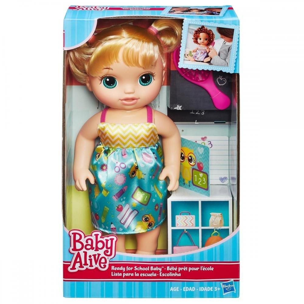 7e10a0e165 Comprar Boneca Baby Alive Loira Escolinha Hasbro Ref  B7223