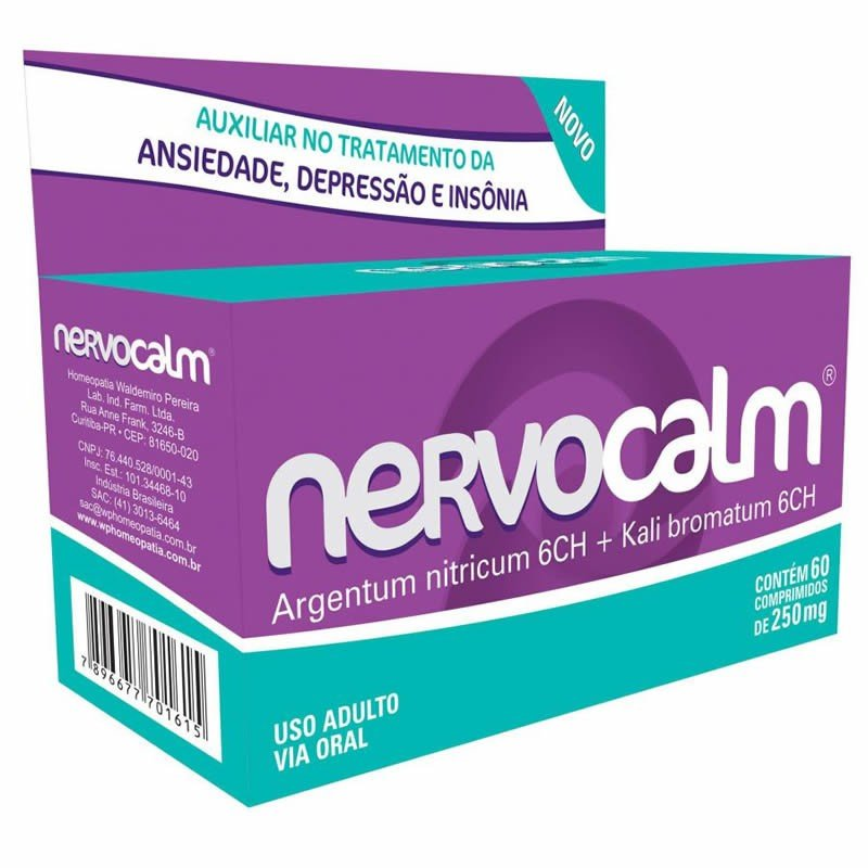 7a80a8a02 Comprar Nervocalm 250 Mg C  60 Comprimidos