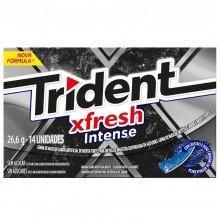 Trident Xfresh Intense Com 14 Unidades
