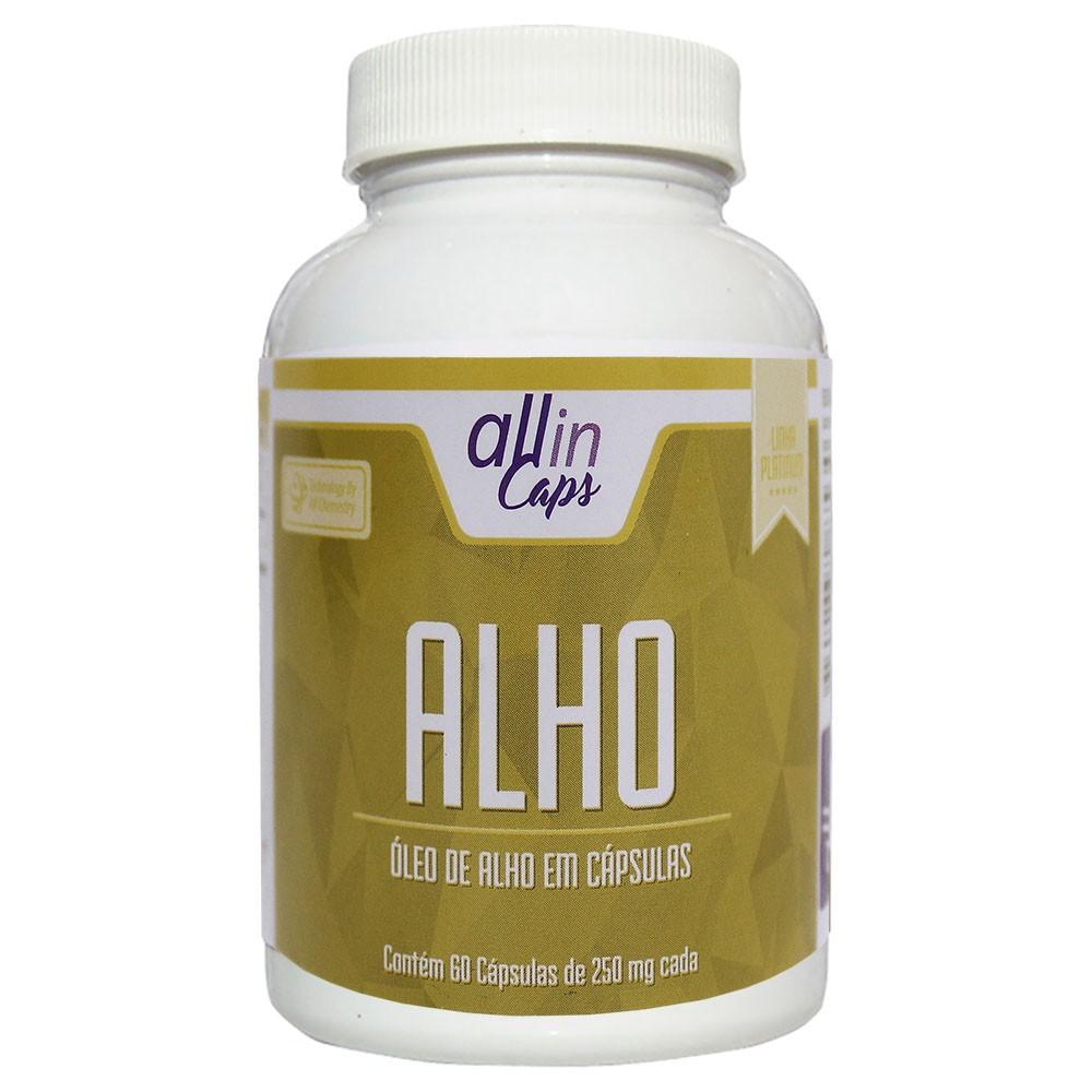 83d5a81dd Comprar óleo de Alho Allin Caps 250mg Com 60 Cápsulas