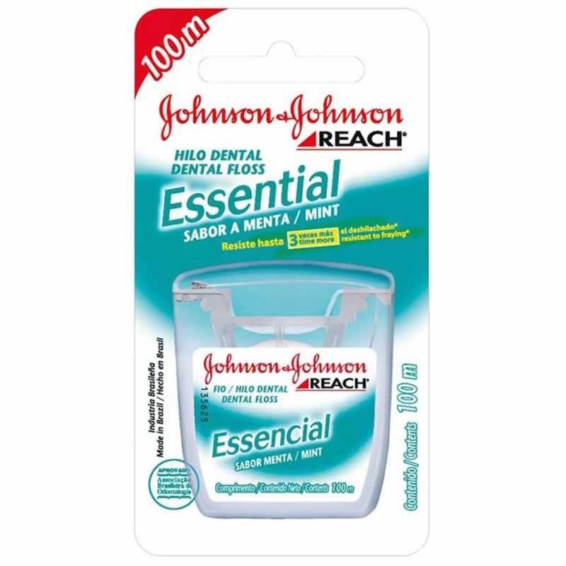 cea984260 Comprar Fio Dental Johnson e Johnson Essencial Menta 100mt