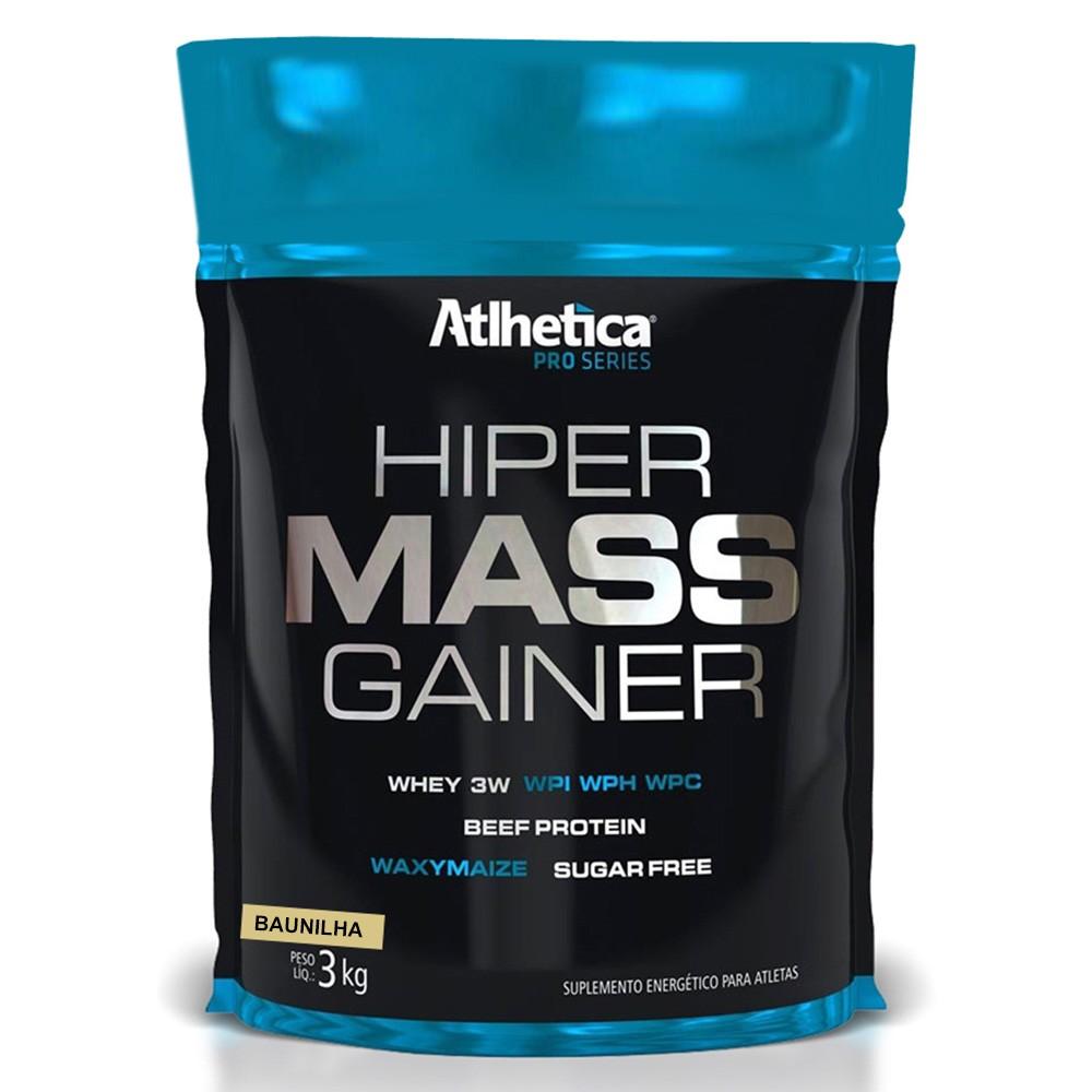 9c54888bc Hiper Mass Gainer Atlhetica Nutrition Pro Series Baunilha 3kg