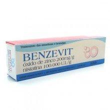 Benzevit Creme Com 40g