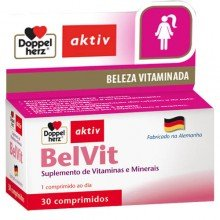 Aktive Beleza Vitaminada Belvit Com 30 Comprimidos