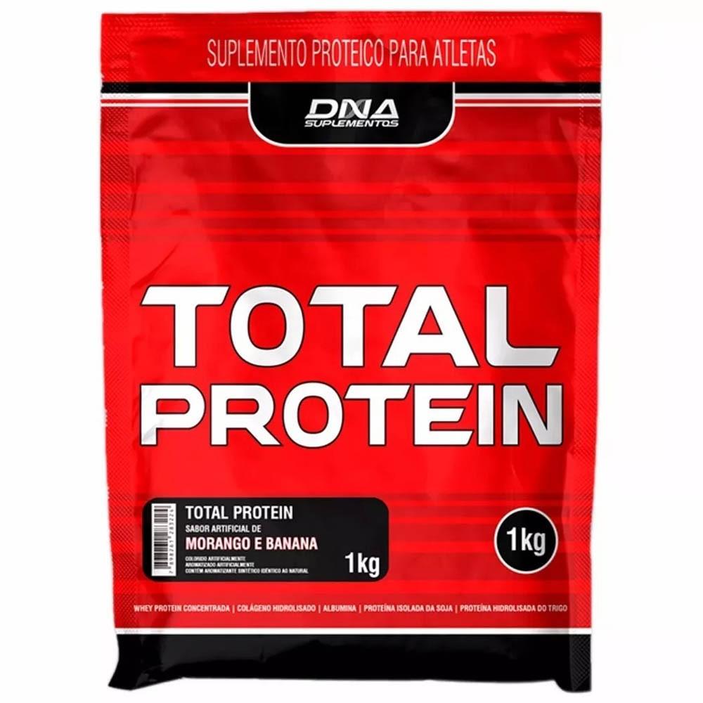 1c385a8a6 Comprar Total Protein D.n.a 1kg Morango Com Banana