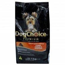 Ração Dog Choice Premium Adulto Raças Pequenas Carne/cereal/vegetais 1kg