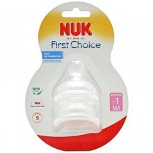 Bico Nuk First Choice Silicone Ref: 709147
