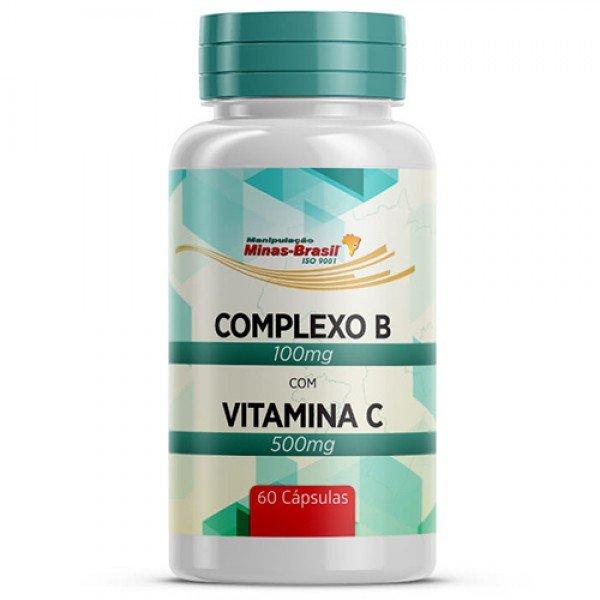 8562d93f8 Comprar Complexo B 100 Mg Vitamina C 500 Mg - 60 Cápsulas