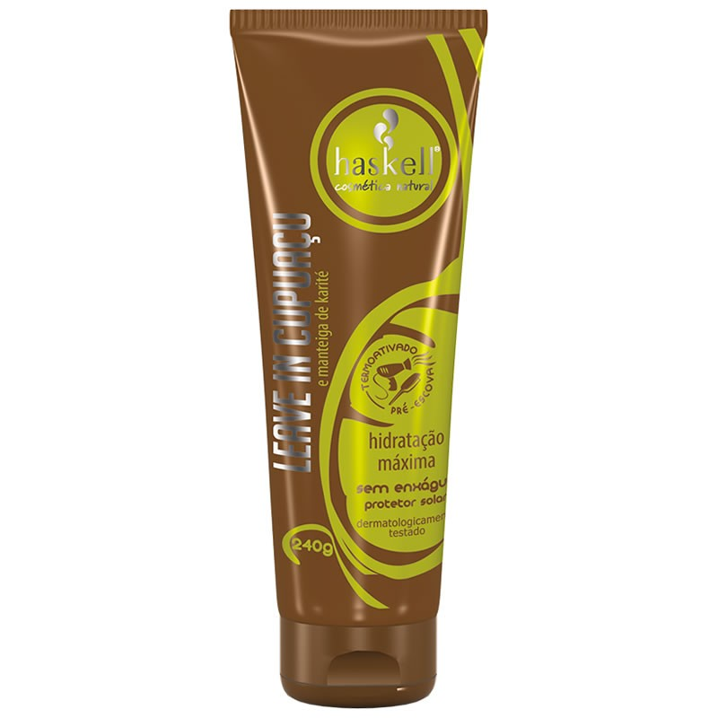 9ab26a544 Comprar Creme Para Pentear Leave In Haskell After Cupuacu