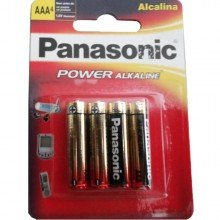 Pilha Panasonic Power Alcalina Aaa4 Com 4 Unidades