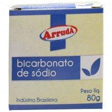 Bicarbonato de Sódio Arruda Com 80 G
