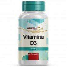 Vitamina D3 7.000 Ui - 60 Cápsulas