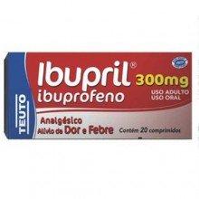 Ibupril 300mg C/ 20 Comprimidos - Teuto
