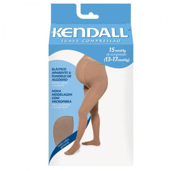 f1e92872d Meia Elástica Kendall At Feminina Gestante Tamanho Grande Cor Mel Compressão  13-17 Mmhg Ref