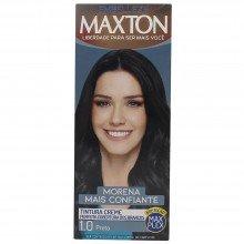 Kit Prático Embelleze Maxton Coloração Creme 1.0 Preto