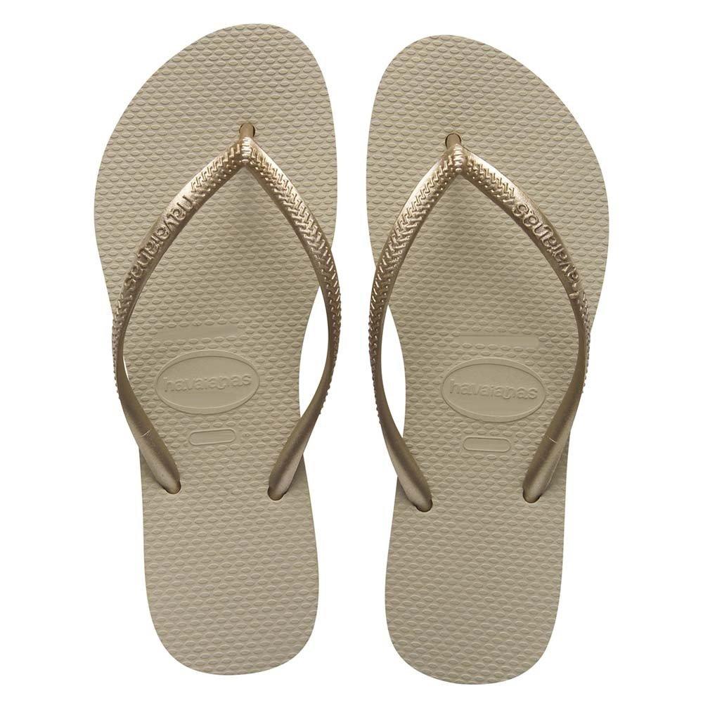 760b99c62 Comprar Sandália Havaianas Slim Areia dourado Claro 35 36