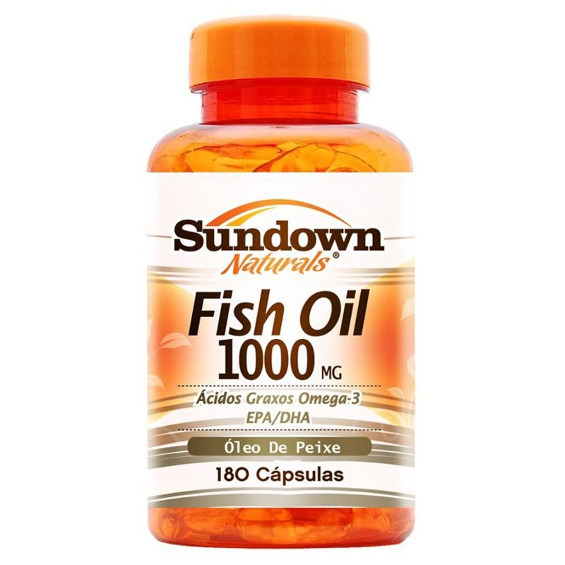 32ac2e2b4 Comprar Sundown Naturals Fish Oil 1000 Mg C  180 Cápsulas