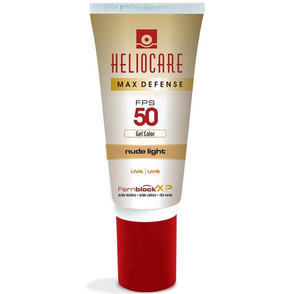 Preço Heliocare max defense nude bronze fps 50 gel creme