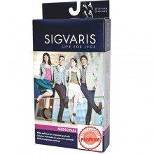 Meia Elástica Sigvaris Select Comfort Meia Coxa Tamanho Pequena Curta Unissex Cor Natural Compressão 20-30mmhg Ref:p1a33