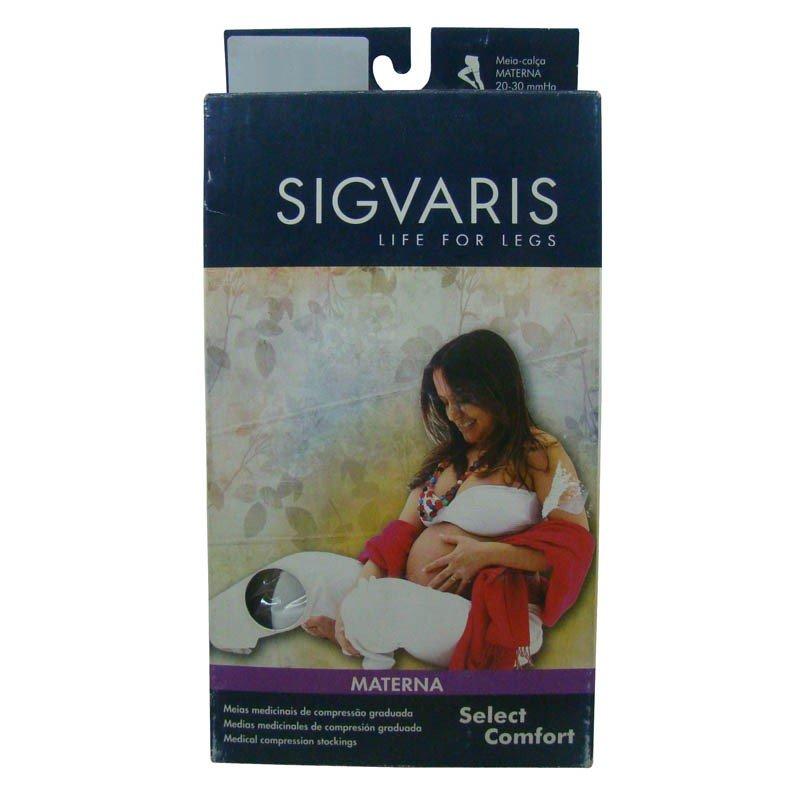 d5755068c Meia Elástica Sigvaris Select Comfort At Materna Tamanho Pequena Normal  Feminina Cor Bege Compressão 30-