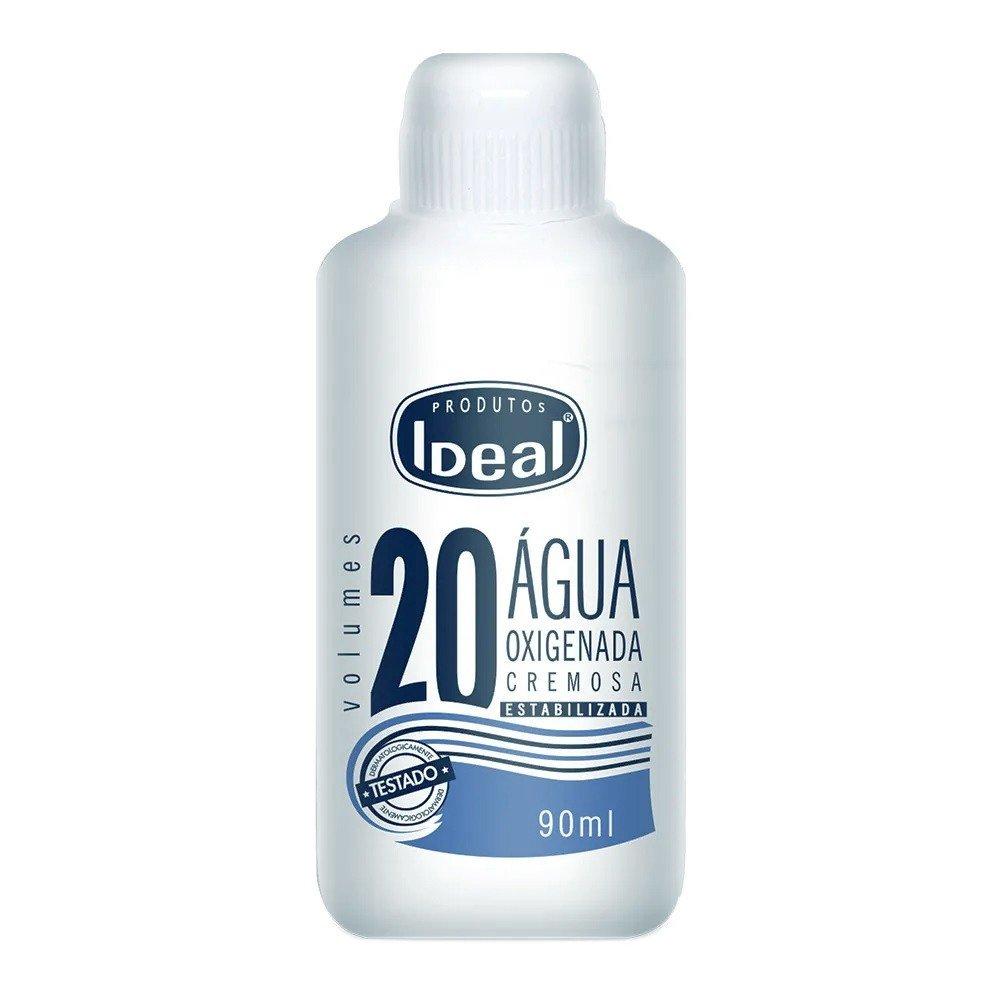 Agua De Batata Para Escurecer O Cabelo Água oxigenada ideal 20 volumes 70ml