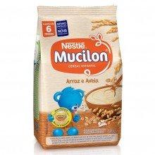 Cereal Mucilon Arroz e Aveia Com 230g