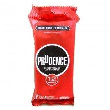 Preservativo Prudence Lubrificados Embalagem Econômica Com 12 Unidades