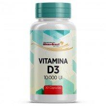Vitamina D3 10.000 Ui - 30 Cápsulas