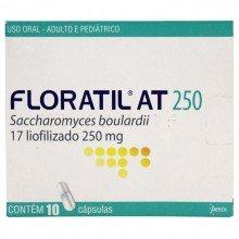 Floratil At 250mg Com 10 Cápsulas