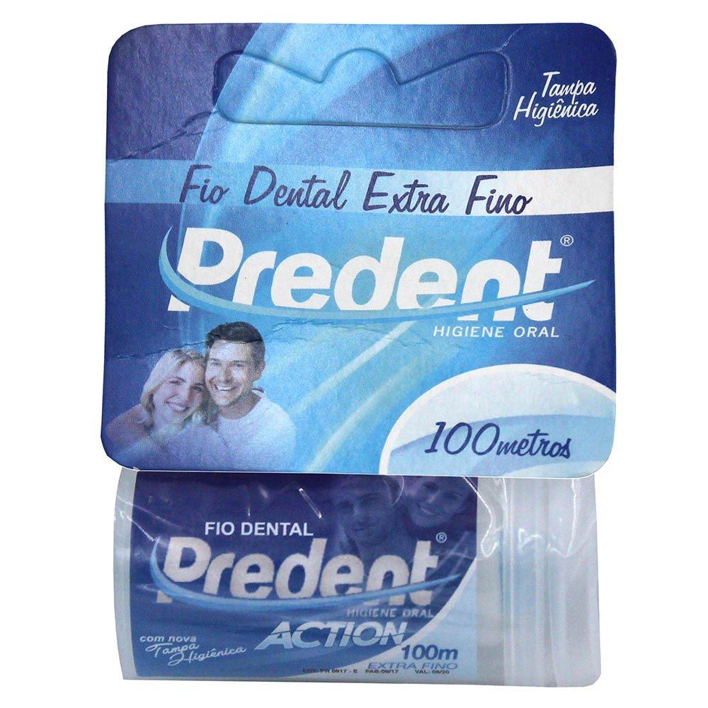 5465d999e Comprar Fio Dental Predent Action Extra Fino 100 Metros