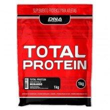 Total Protein Dna Suplemento Morango Com 1 Kg