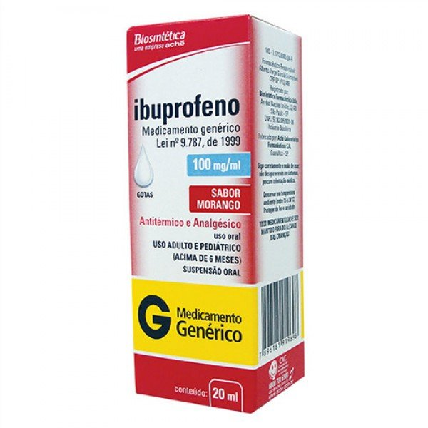 Ibuprofeno 600 mg bula