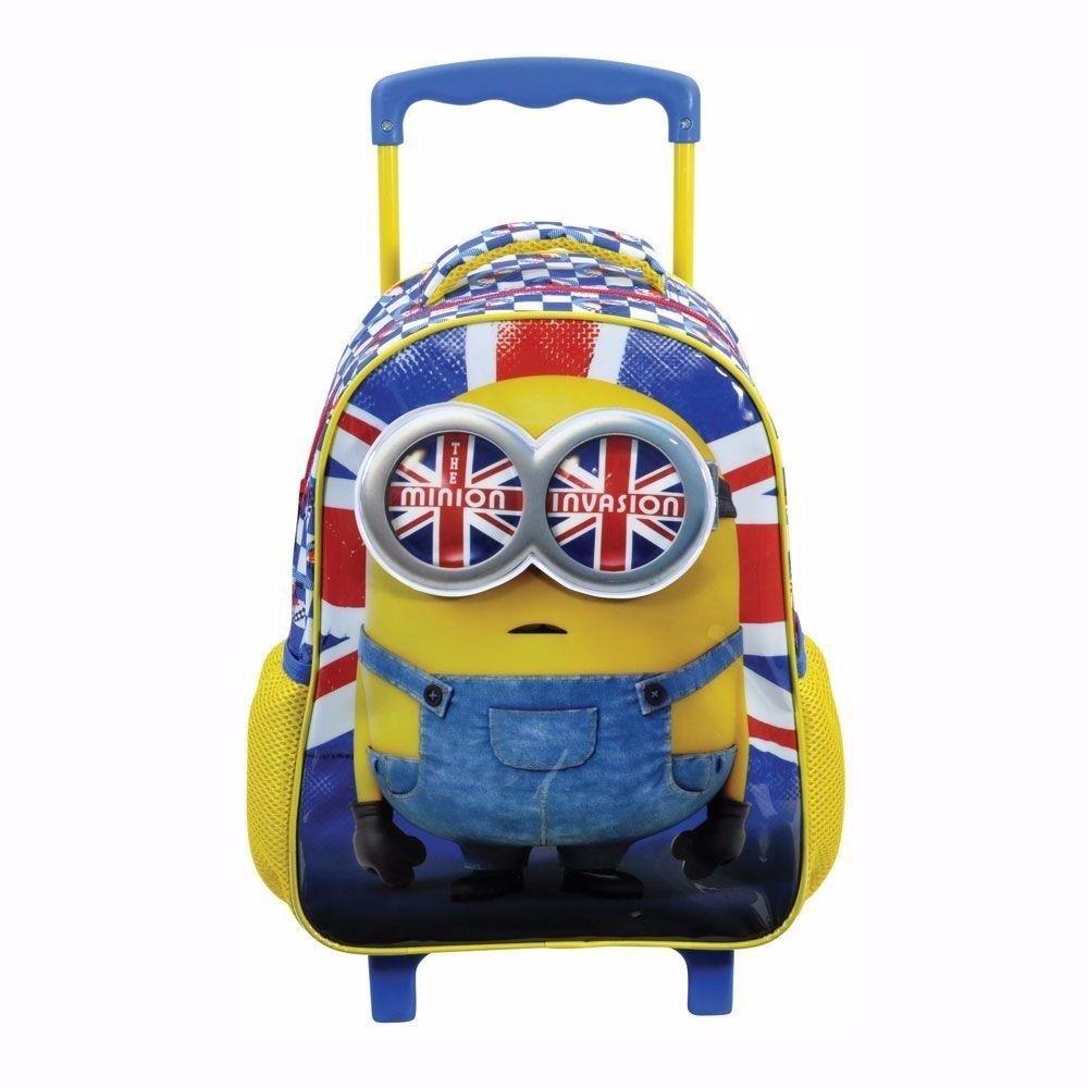 1cb7d39e2 Comprar Mochila Escolar Minions Xeryus Kids Ref-5750