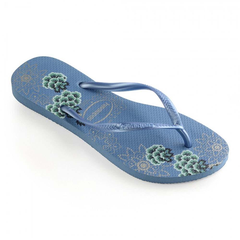 75c38821c8 Comprar Sandália Havaianas Slim Orgânic Azul 35 36
